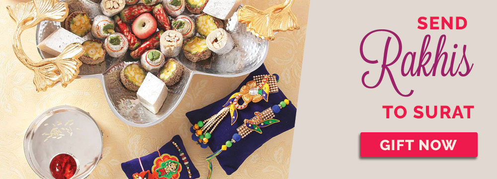 Send Rakhi to Surat
