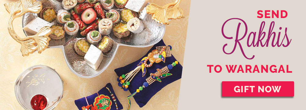 Send Rakhi to Warangal