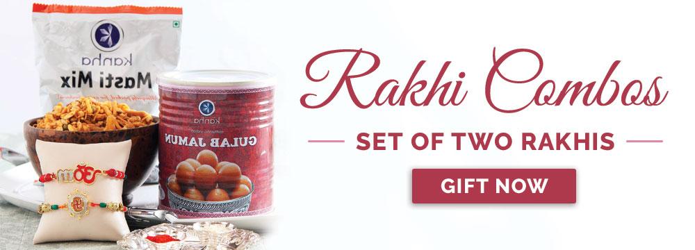 Set of 2 Rakhis
