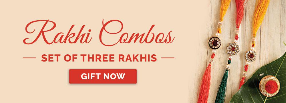 Set of 3 Rakhis