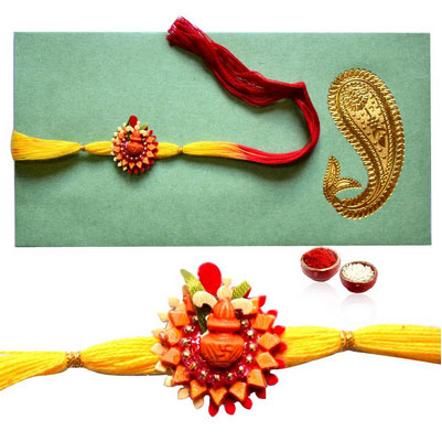 Traditional Kalash Rakhi !!!!